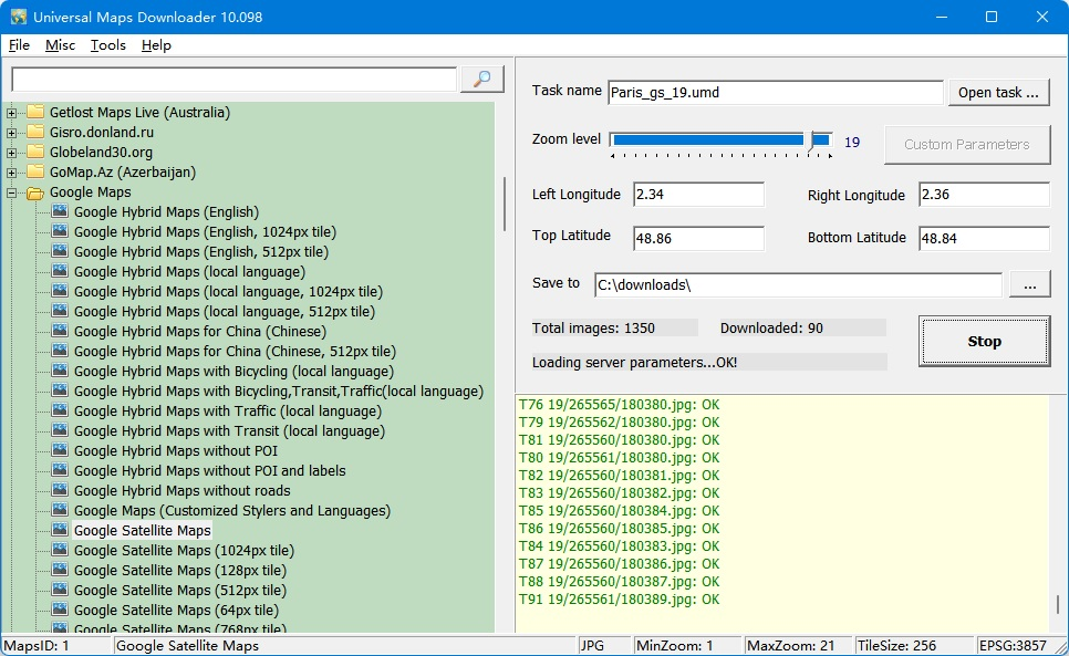 Click to view Easy Ovi Maps Downloader 6.0 screenshot