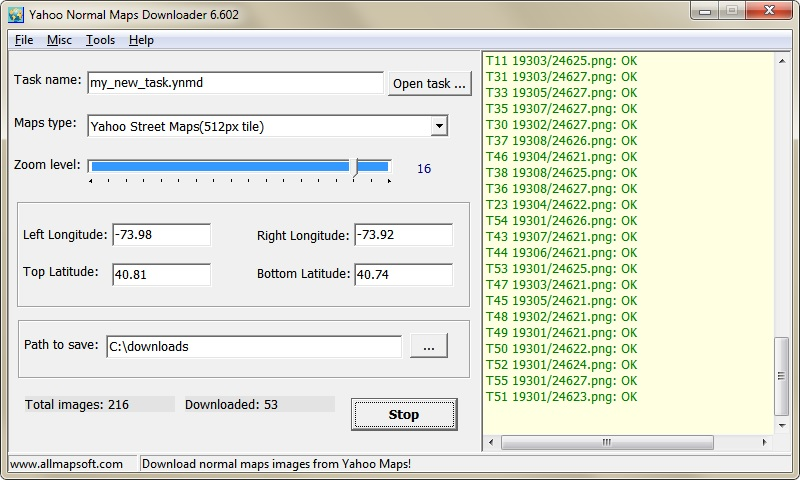 Yahoo Normal Maps Downloader 6.436 full